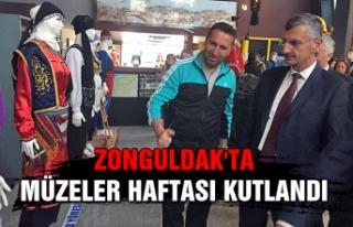 Zonguldak'ta Müzeler Haftası kutlandı