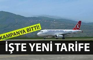 Zonguldak – İstanbul uçuşlarında yeni bilet...