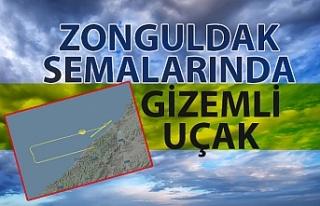 Zonguldak semalarında gizemli uçak