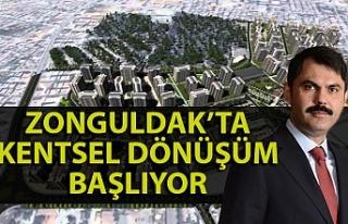 Bakan Kurum'dan Zonguldak açıklaması - Zonguldak...