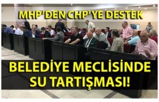 MHP'den CHP'ye destek… Belediye Meclisinde su...
