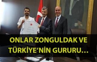 Onlar Zonguldak ve Türkiye'nin gururu…