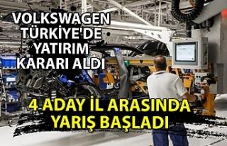 Volkswagen Türkiye'de yatırım kararı aldı...