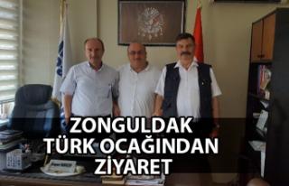 Zonguldak Türk Ocağından ziyaret