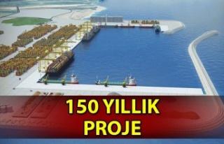 150 yıllık proje Karadeniz'de stratejik konuma...