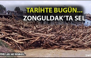 27 Temmuz 1983… Zonguldak'ta sel felaketi