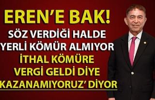 Ahmet Eren: ''Hedeflerimizi tutturamadık,...