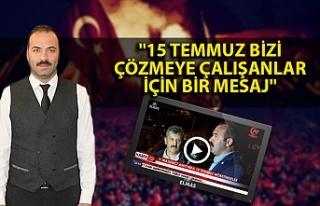 AK Parti Merkez İlçe Başkanı Çağlayan: ''15...