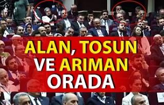 AK Parti Zonguldak yöneticileri ve belediye başkanı...