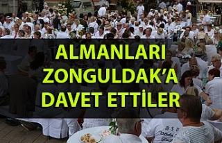 Almanları Zonguldak'a davet ettiler…