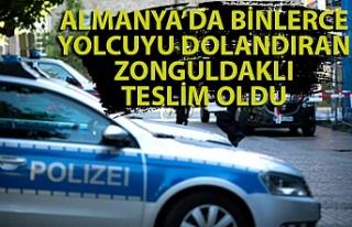 Almanya'da binlerce yolcuyu dolandıran Zonguldaklı...