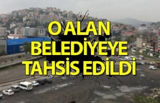 Bakanlıktan Zonguldak Belediyesi'ne yapılan dev...