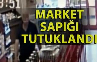 Bartın'da market sapığı tutuklandı