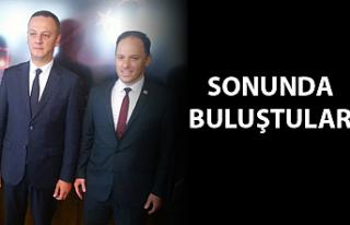 Başkan Alan ve CHP Milletvekili Yavuzyılmaz buluştu