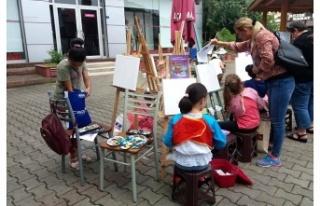 Çaycuma'da 2. Ulusal Resim Çalıştayı başladı