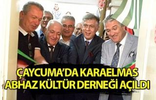 Çaycuma'da Karaelmas Abhaz Kültür Derneği'nin...