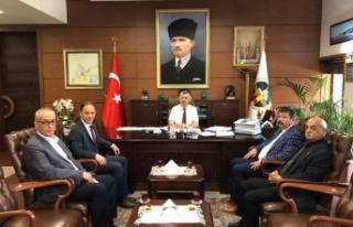 CHP Milletvekili Yavuzyılmaz Zonguldak Valisi ile...