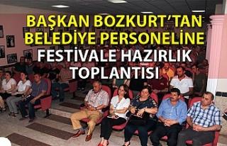 Devrek Belediye Başkanı Çetin Bozkurt personel...
