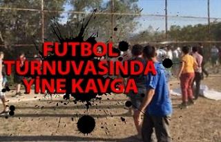 Ereğli'deki futbol turnuvasında yine kavga çıktı,...