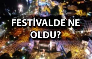 Festivalde ne oldu?