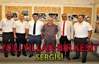GMİS, Akyürek'in sergisini ziyaret etti...