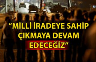 GMİS Genel Başkanı Hakan Yeşil'den 15 Temmuz...