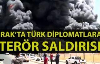 Irak'ta Türk diplomatlara terör saldırısı:...