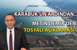 Karabük'ün ardından… Metin Demir'den Tosyalı...