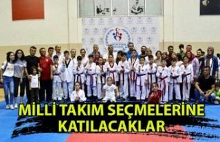 Kdz. Ereğli'de 6 Taekwondocu milli takım seçmelerine...