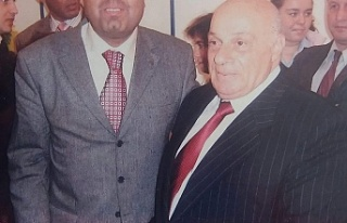 Kıbrıs'ın efsanevi lideri Rauf Denktaş Zonguldak'ta...