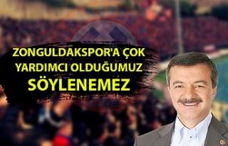 Milletvekili Polat Türkmen: ''Zonguldakspor'un...