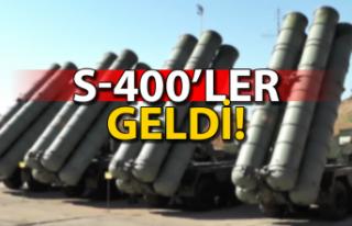S-400'ler Ankara'ya geldi