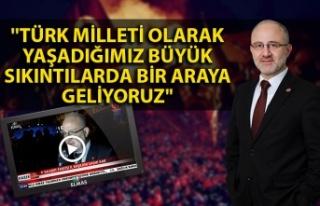 Saadet Partisi İl Başkanı Kar: ''Türk...