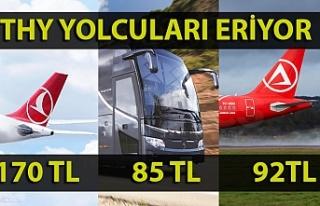 THY'nin Zonguldak yolcu sayısı eriyor