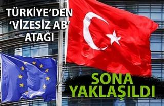 Türkiye'den 'vizesiz AB' atağı....