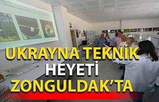 Ukyrayna teknik heyeti Zonguldak'a geldi