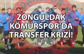 Zonguldak Kömürspor'a transfer krizi
