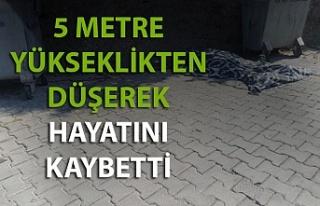 Zonguldak'ta bir kişi 5 metre yükseklikten...