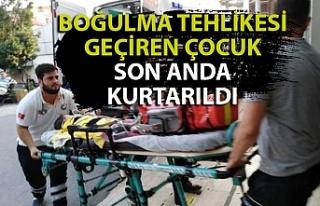 Zonguldak'ta boğulma tehlikesi geçiren 3 yaşındaki...