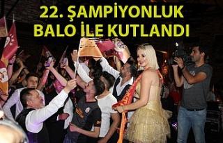 Zonguldak'ta Galatasaray'ın 22. şampiyonluğu...