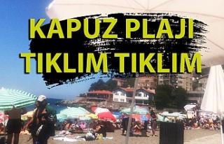 Zonguldak'ta vatandaşlar plaja akın etti