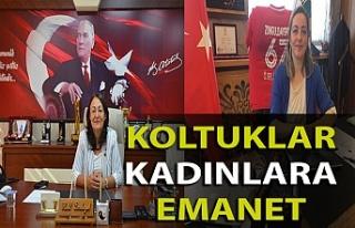 Zonguldak'taki belediyelere kadın başkanvekilleri