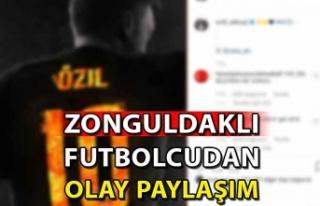 Zonguldaklı Futbolcudan Olay Paylaşım !