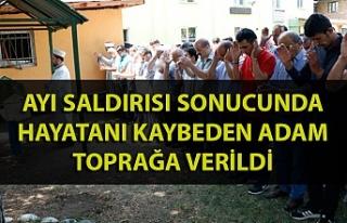 Zonguldak'ta ayı saldırısı sonucu hayatını...