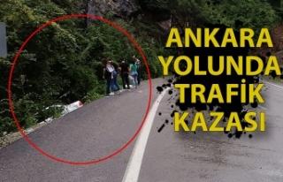Ankara yolunda trafik kazası