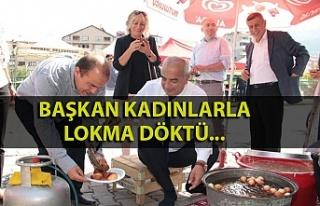 Başkan Bozkurt'tan okul yararına kermese destek...
