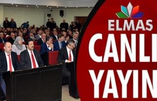 Belediye Meclisi toplanıyor... Elmas TV'den...