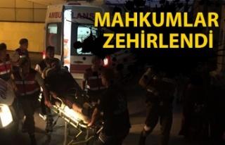 Beycuma Cezaevi'nde olay... 50 mahkum hastanelere...