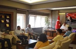 Çaycumaspor Kulübü'den Kaymakam Keçeli'ye...