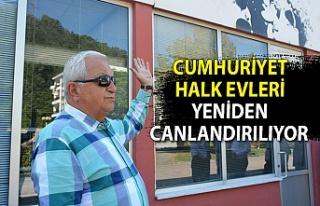 Ereğli'de Cumhuriyet Halk Evleri yeniden canlandırılıyor